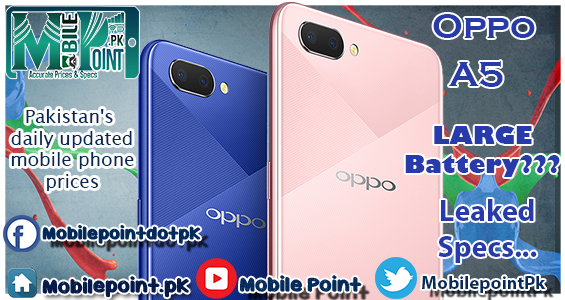 Oppo A5 : A Battery Beast on the way