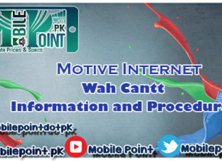 Motive Internet Wah Cantt