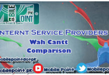 Wah Cantt ISPs