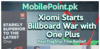 Xiomi Billboard War with OnePlus Featured