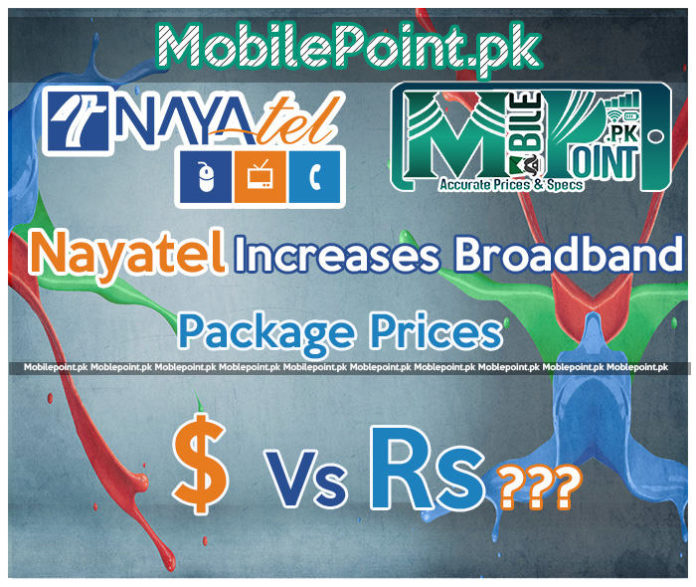 Nayatel increases broadband packages rate